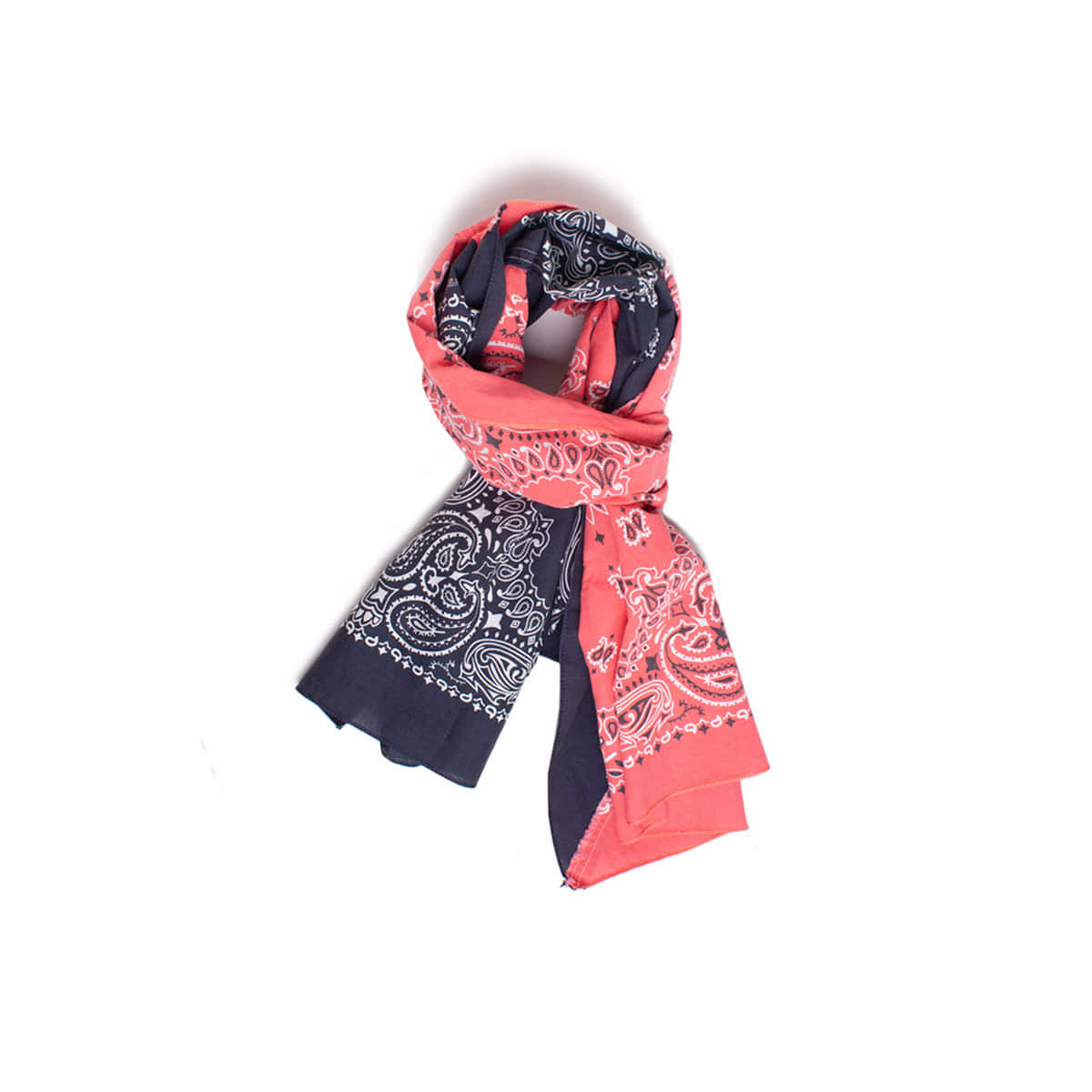 [INFILEDER DESIGN] BANDANA STALL 'ORANGE / BLACK'
