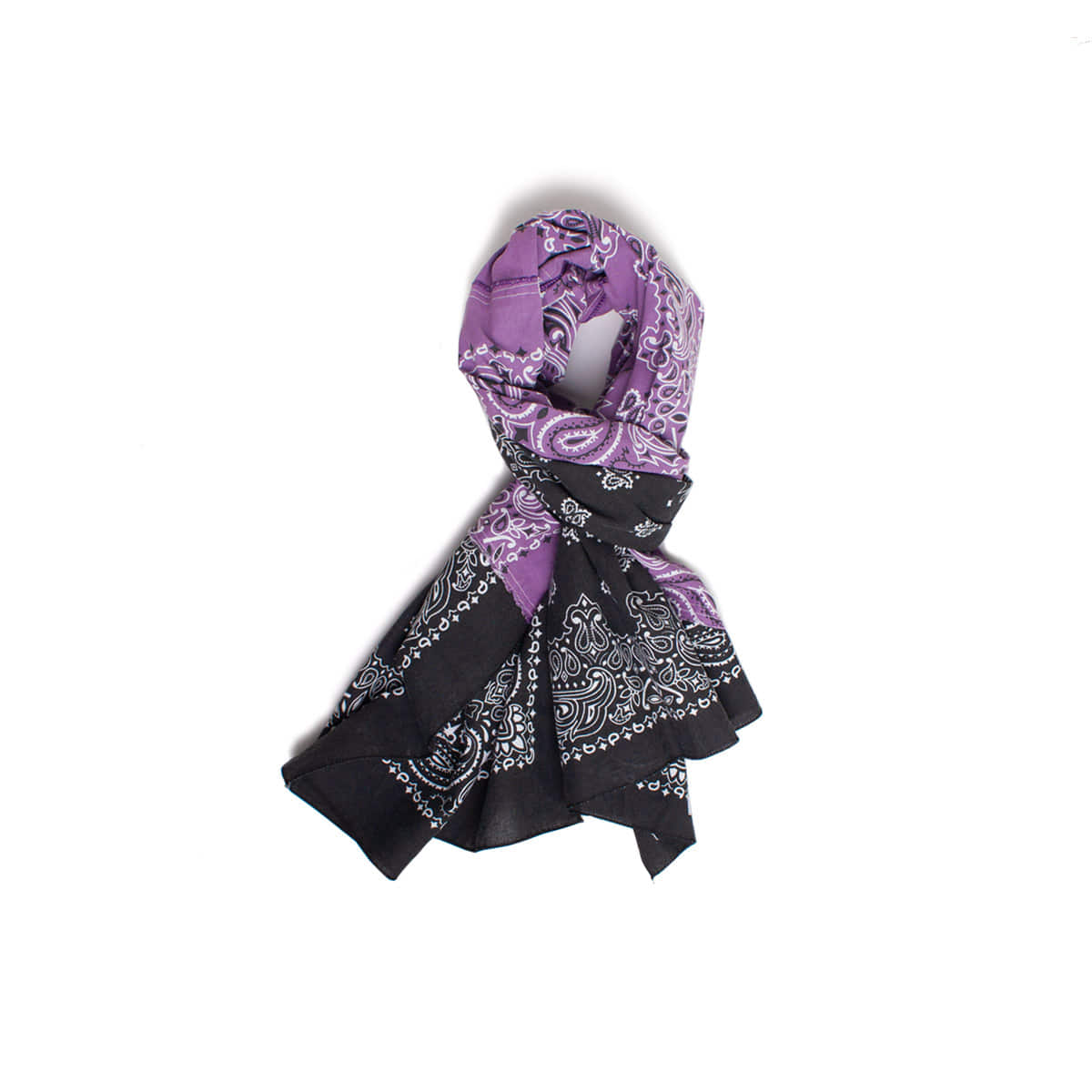 [INFILEDER DESIGN] BANDANA STALL 'PURPLE / BLACK'