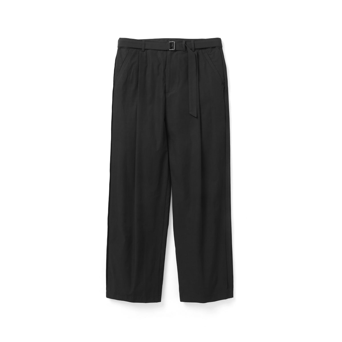 [YOUTH] REVERSE BELTED PANTS 'BLACK'
