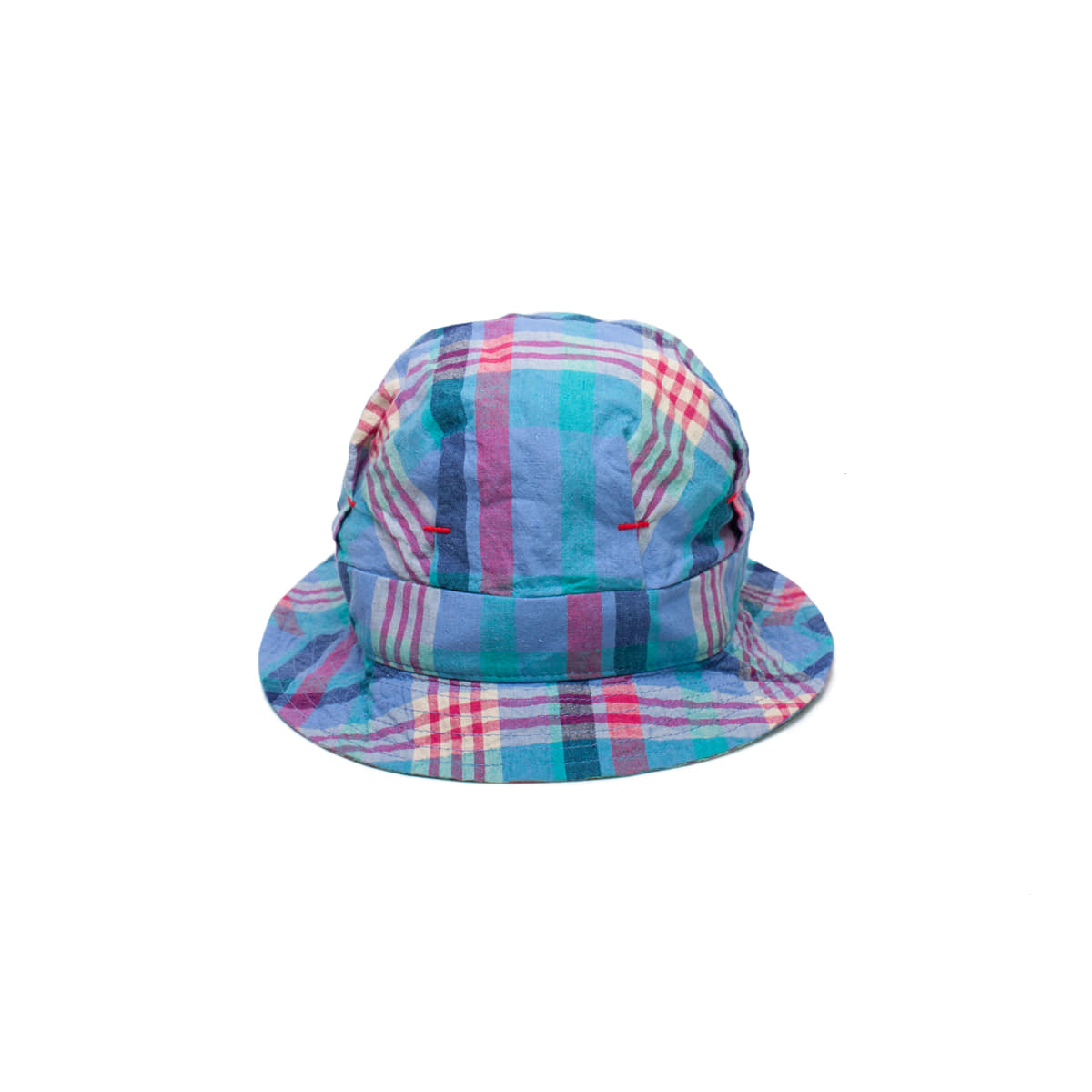 [INFILEDER DESIGN] CHECK DE GAULLE HAT 'BLUE'
