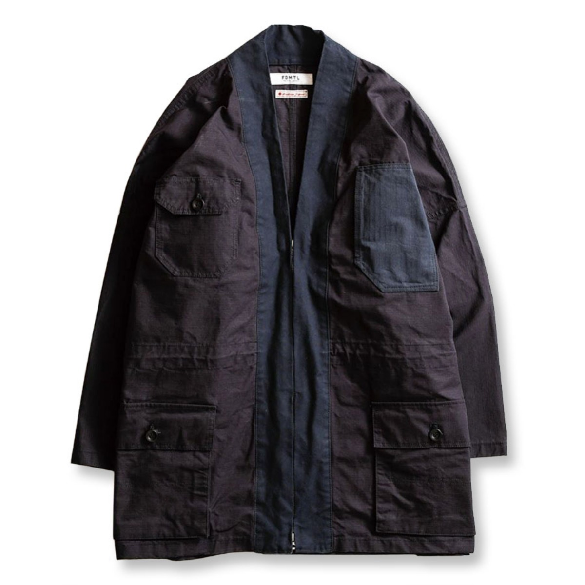 [FDMTL] HAORI COAT 'NAVY'