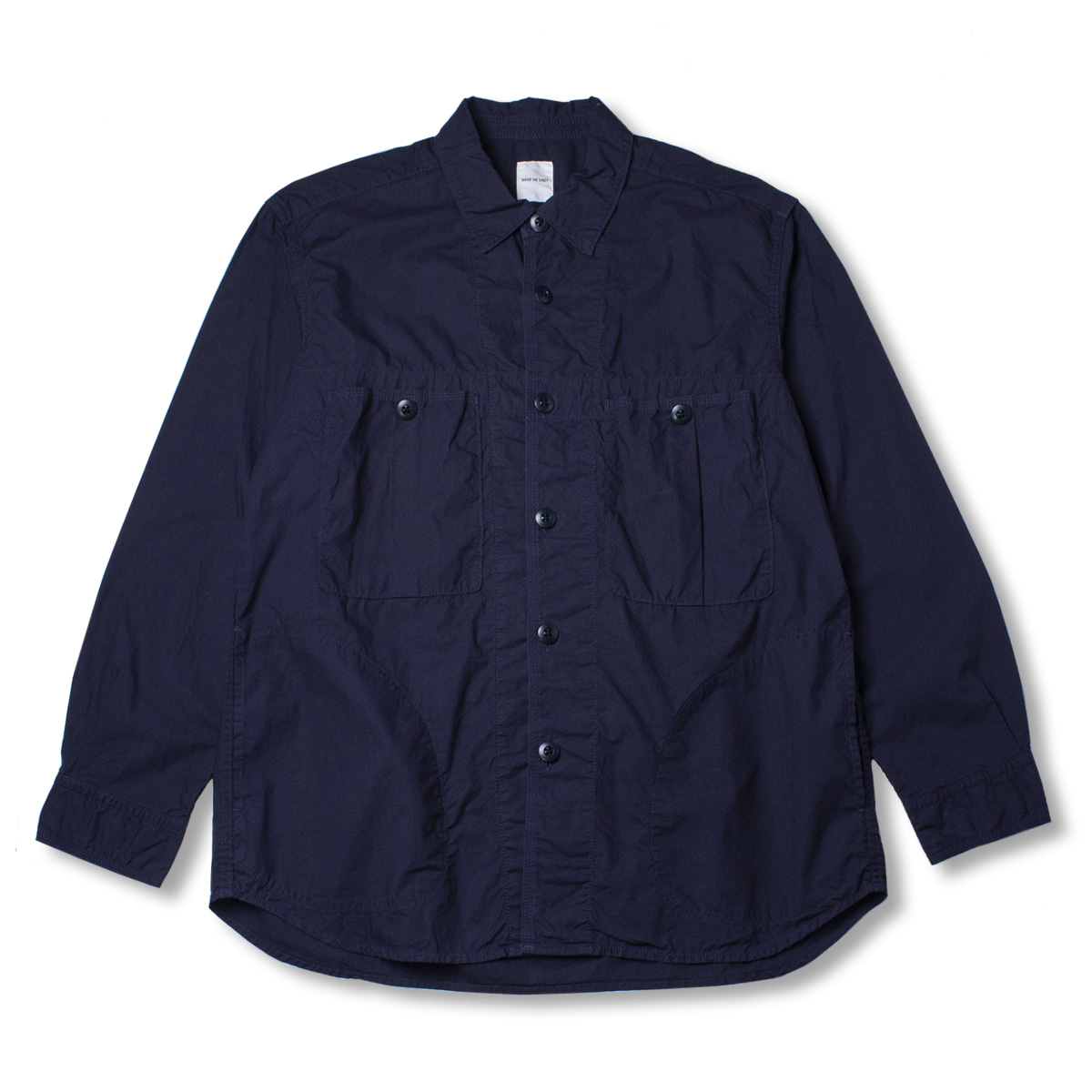 [SAGE DE CRET] TYPE WRITER MILITARY SHIRT 'NAVY'