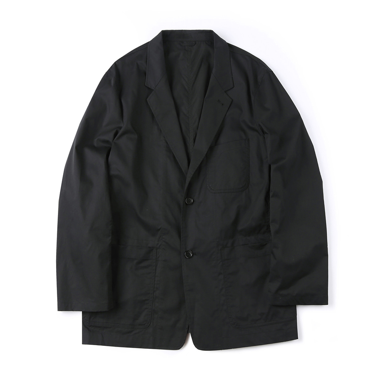 [SHIRTER] HARD WASHER COTTON JACKET 'BLACK'