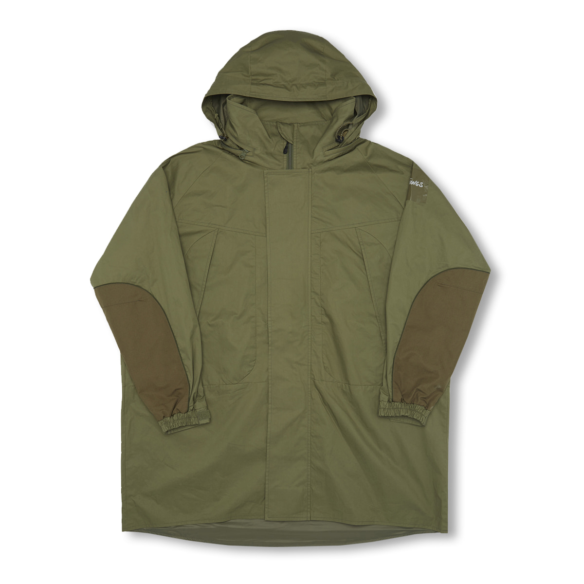 [WILD THINGS] LIGHT MONSTER PARKA 'LEAF'