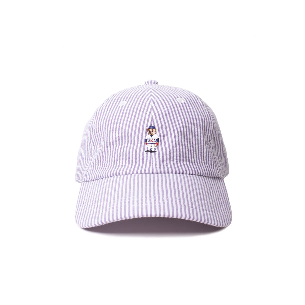 [INFILEDER DESIGN] STRIPRE BEAR CAP 'PURPLE'
