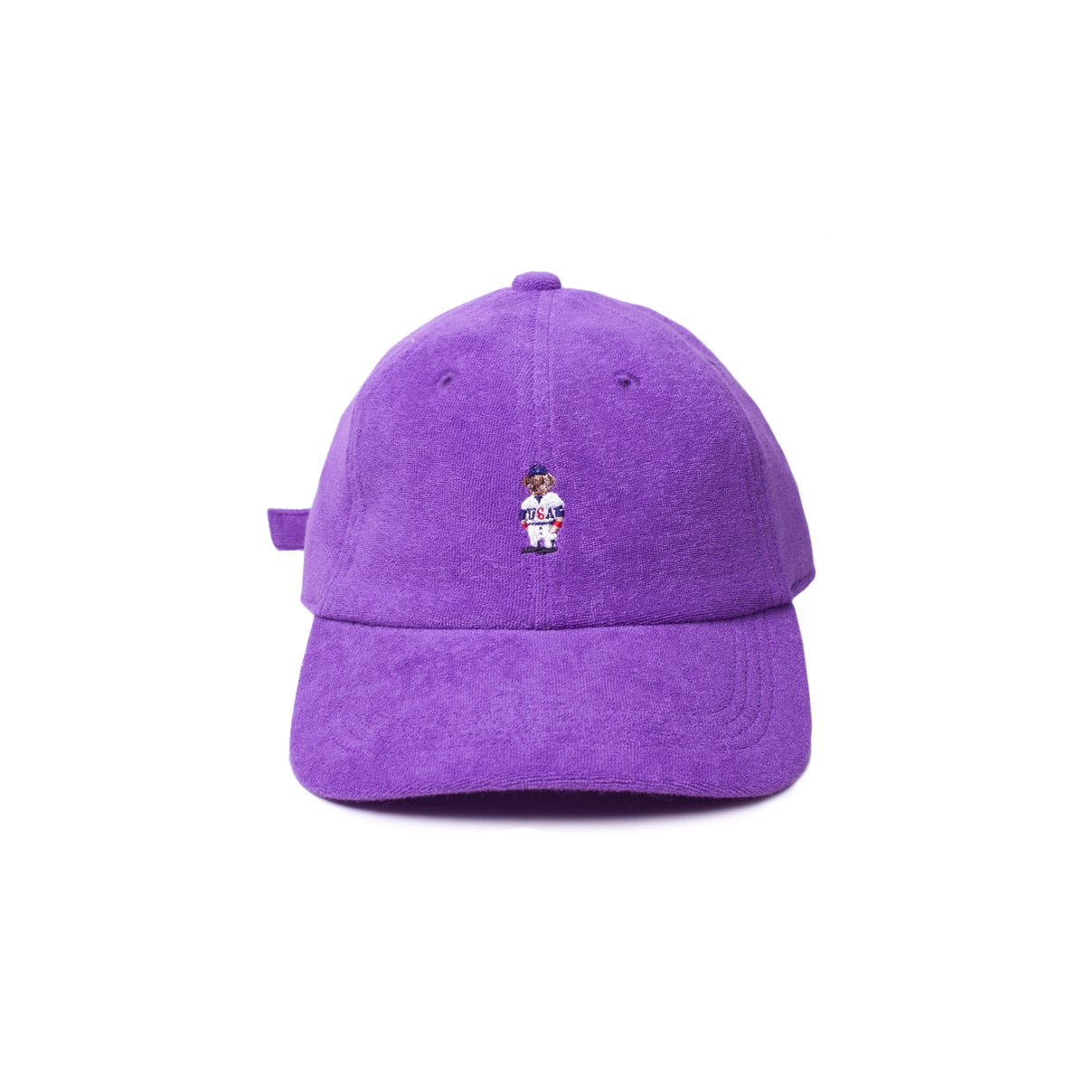 [INFILEDER DESIGN] PILE BEAR CAP 'PURPLE'