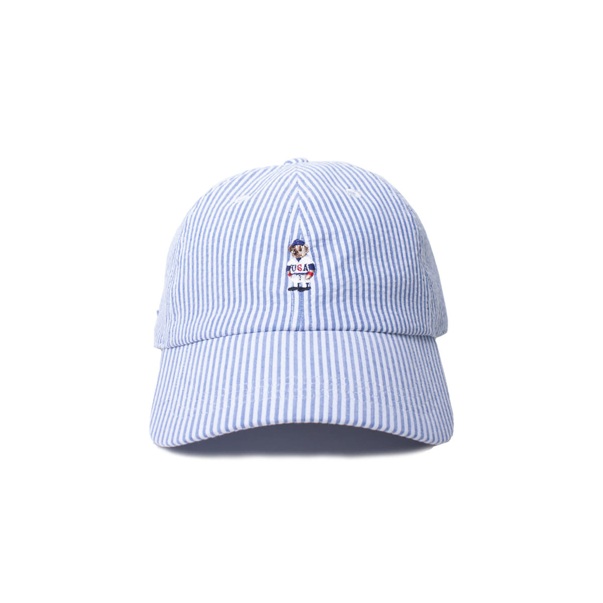 [INFILEDER DESIGN] STRIPRE BEAR CAP 'BLUE'