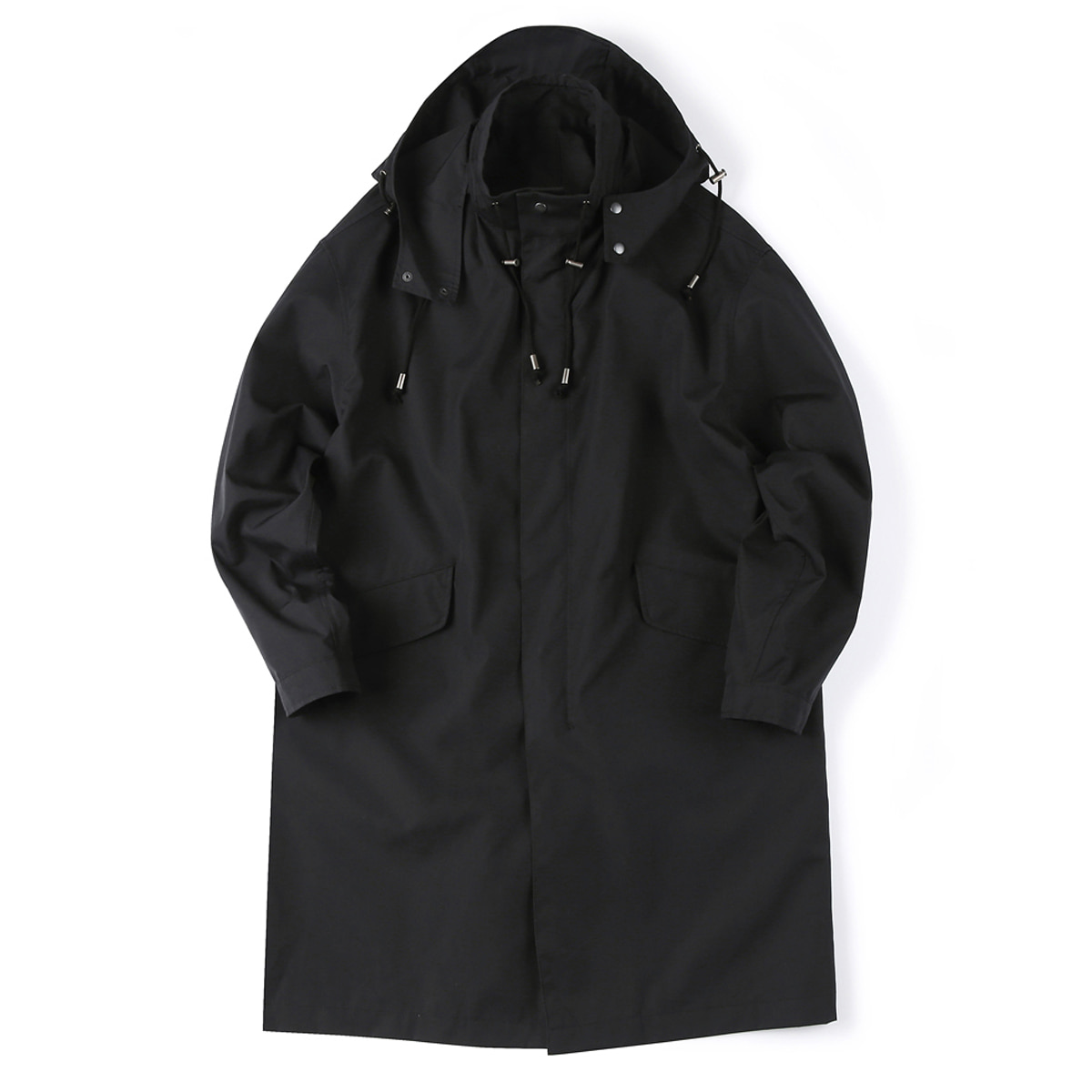 [SHIRTER] NANO WEATHER COAT 'BLACK'