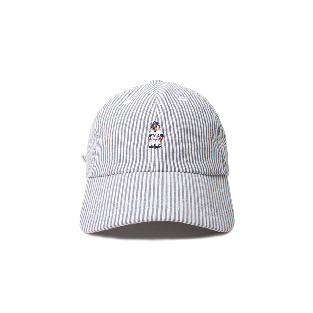 [INFILEDER DESIGN] STRIPRE BEAR CAP 'GREY'