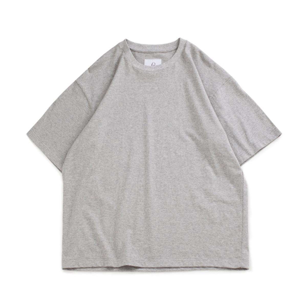 [BROWNYARD] ONE DAY T-SHIRT 'GREY'