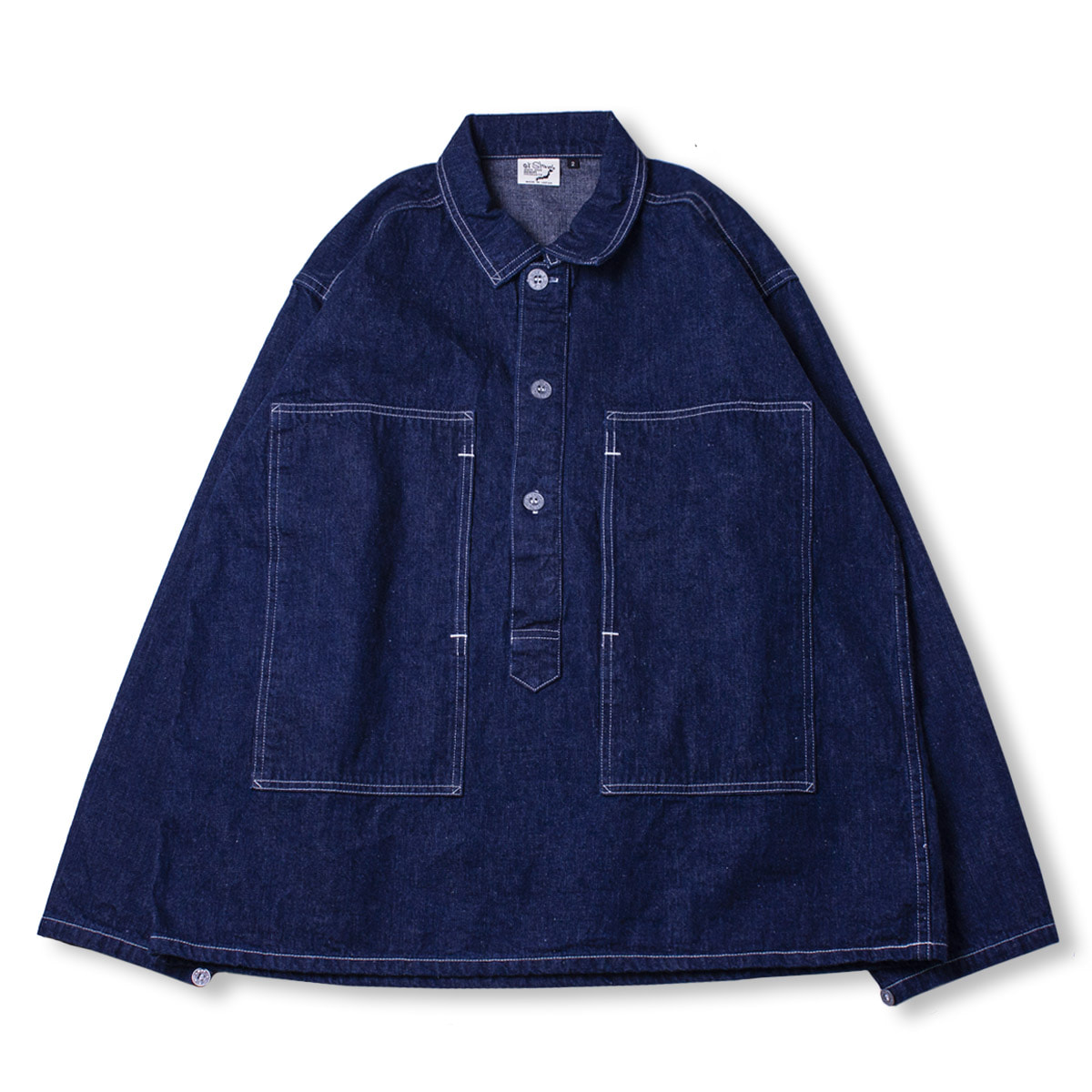 [ORSLOW] PW PULLOVER SHIIRT JACKET 'ONE WASH'