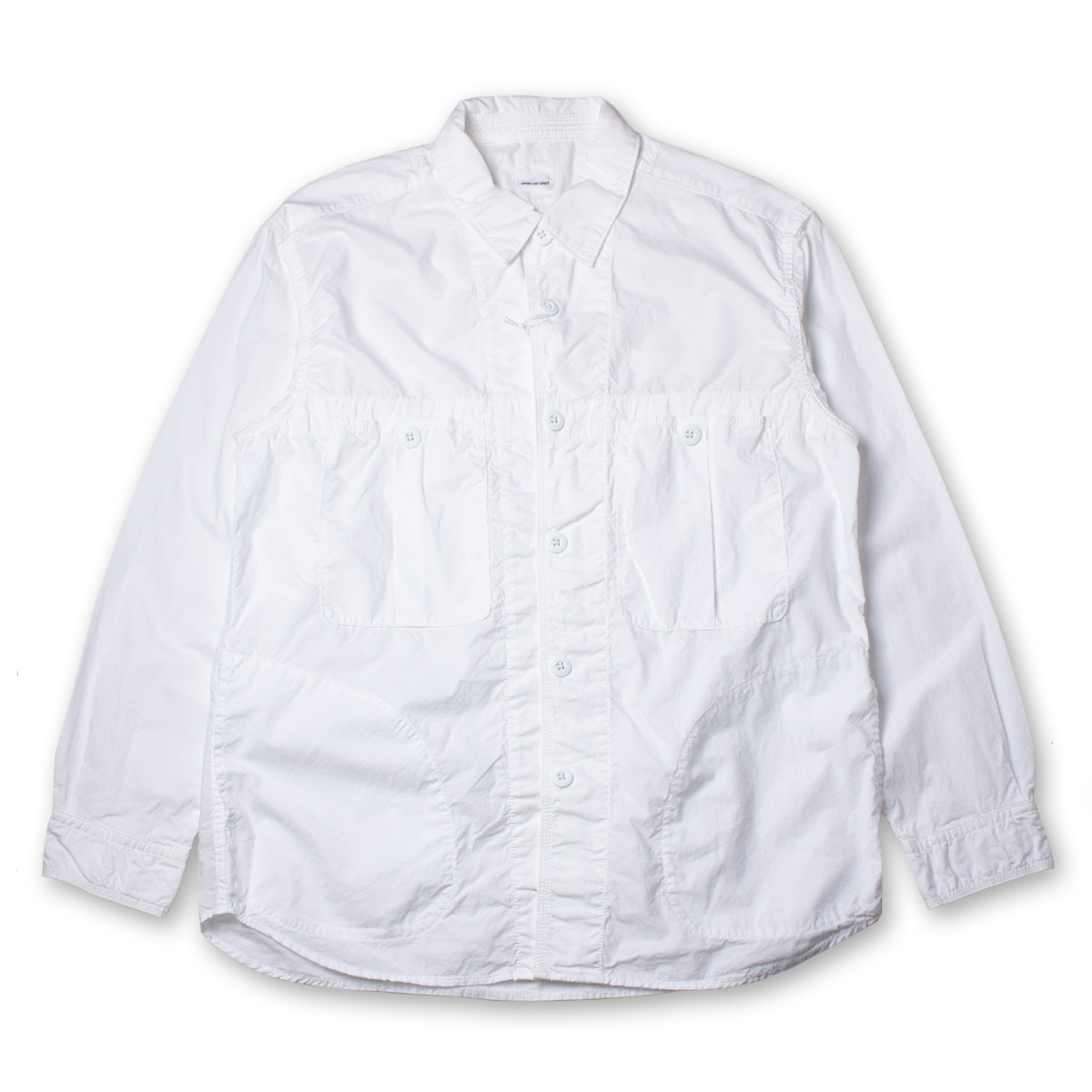[SAGE DE CRET] TYPE WRITER MILITARY SHIRT 'WHITE'