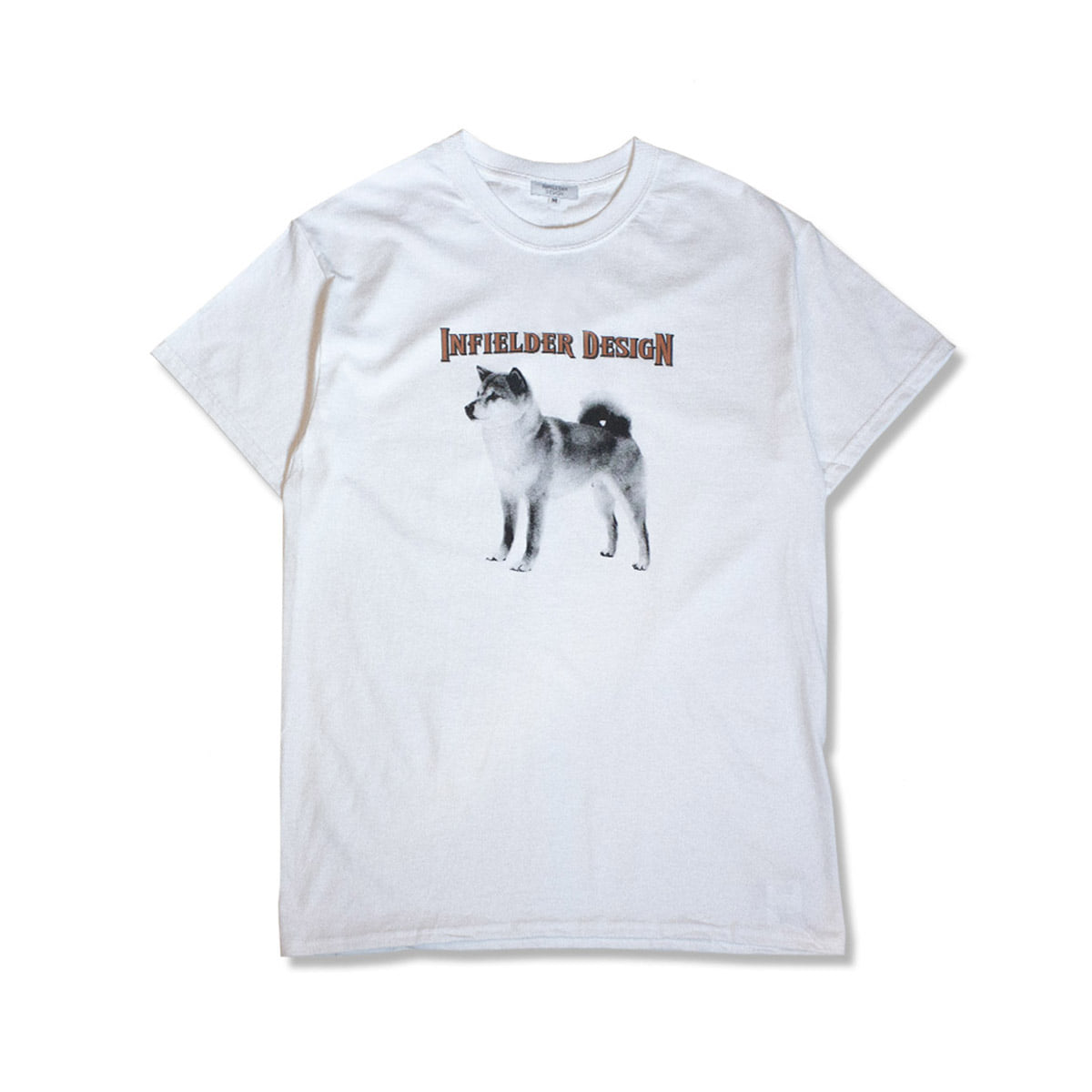 [INFIELDER DESIGN] ANIMAL TEE 'DOG'