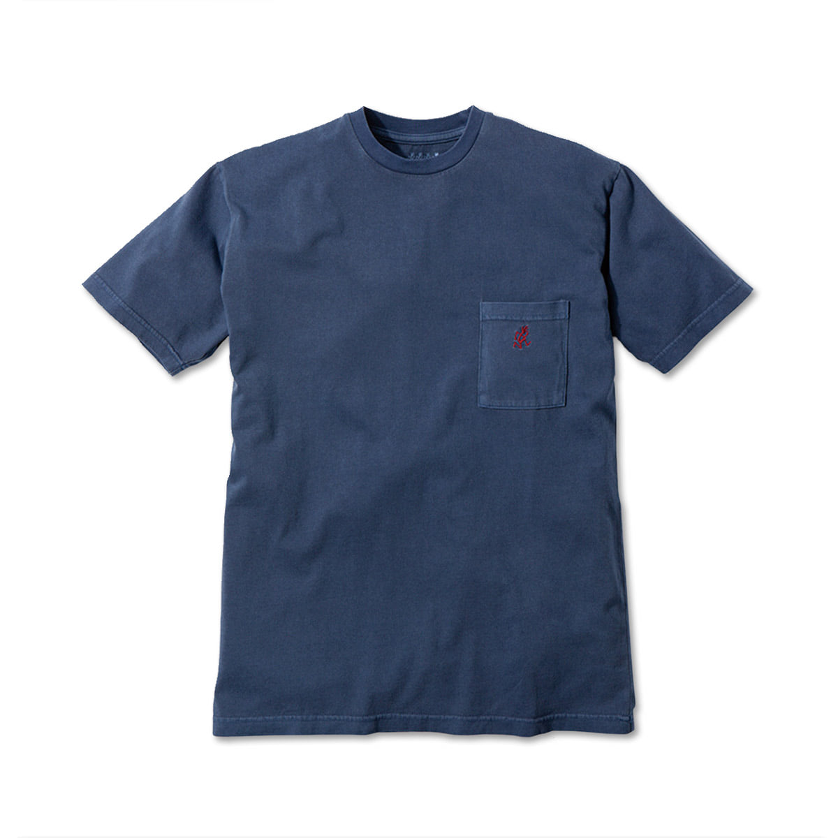 [GRAMICCI] ONE POINT T-SHIRTS 'NAVY'