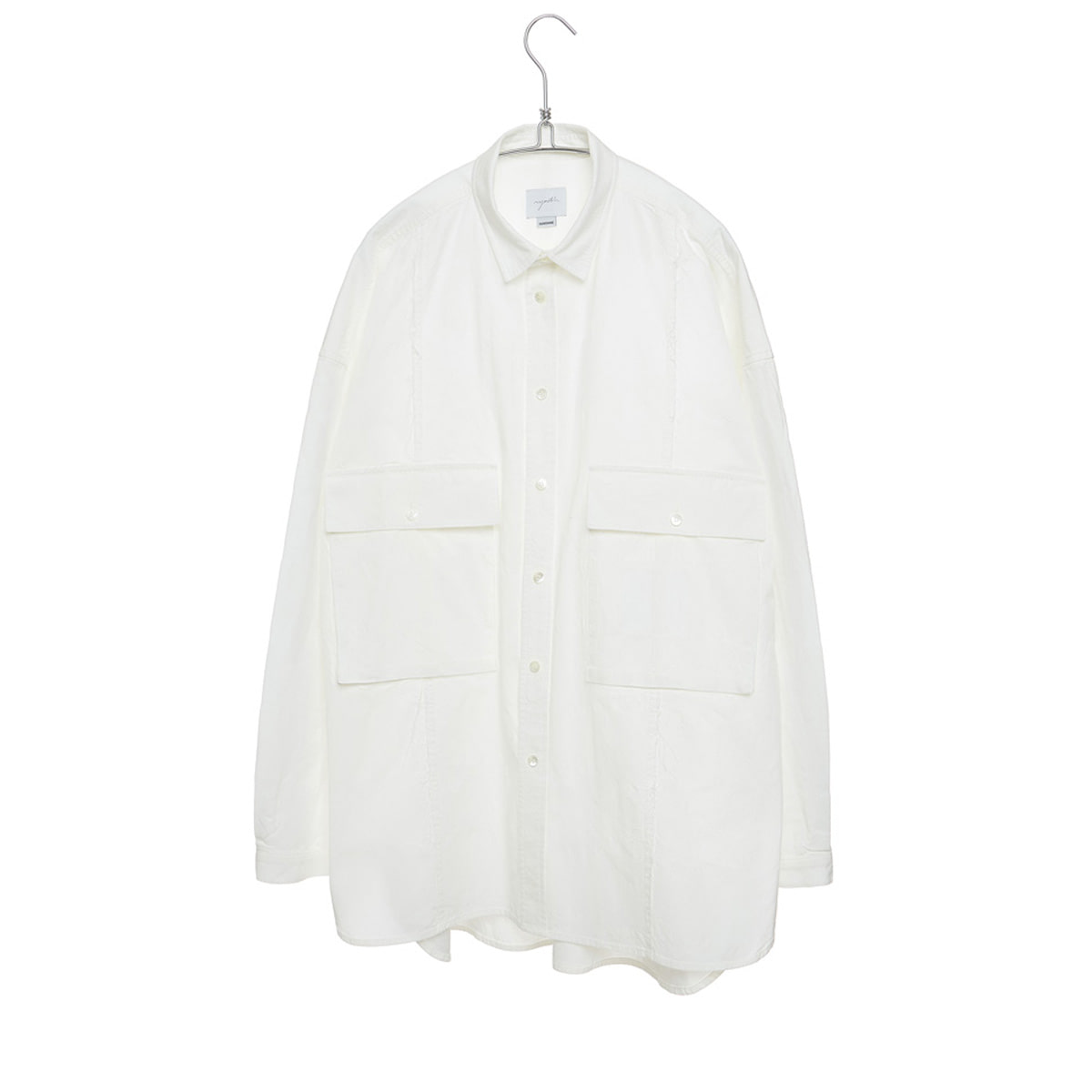 [YOUTH] CUT-OFF SHIRT 'WHITE'
