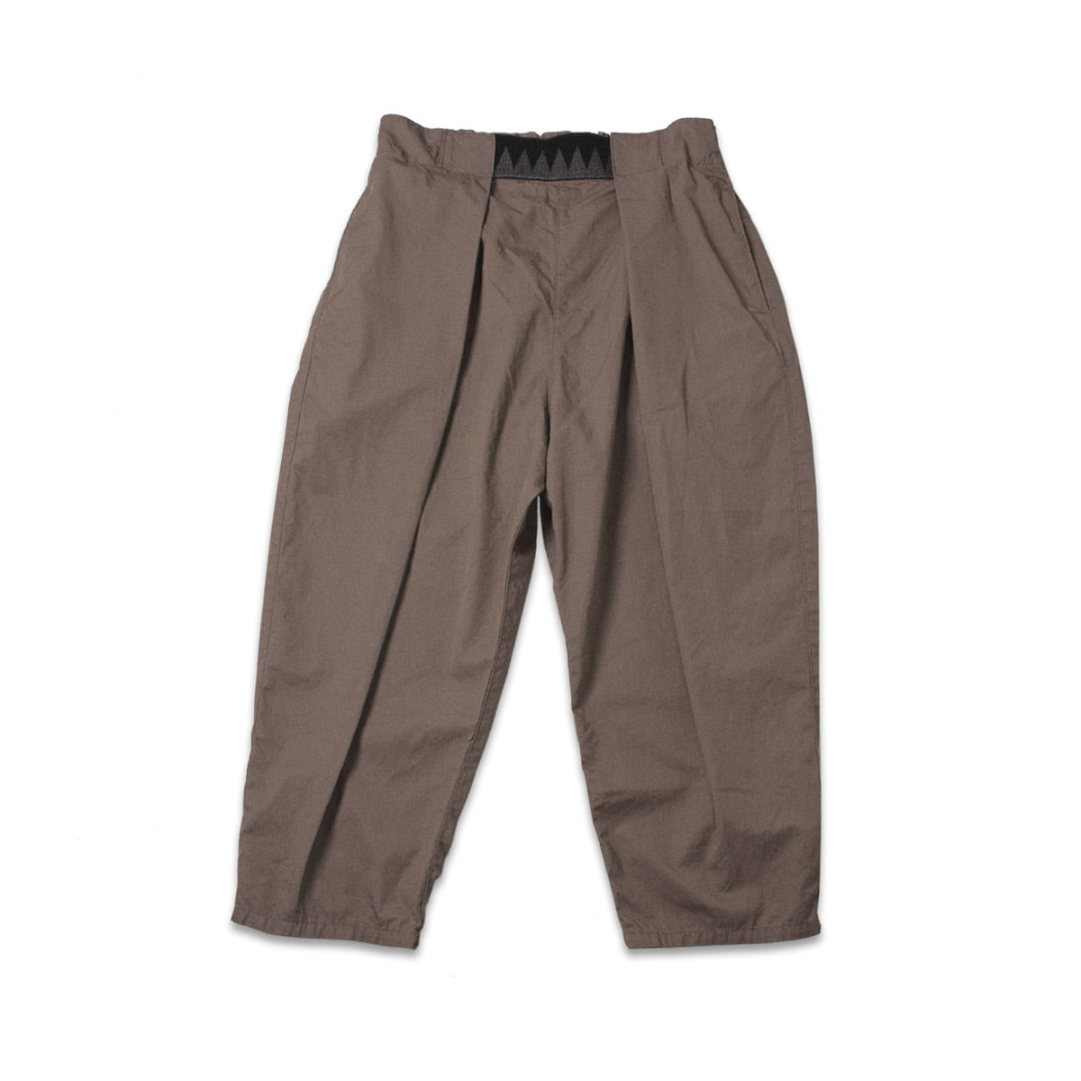 [KAPITAL] GABERGINE COTTON EASY BEACH GO PANTS 'BEIGE'