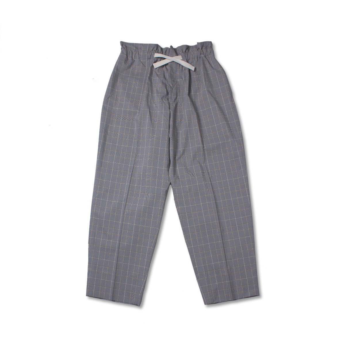 [HAVERSACK] CHECK EASY PANTS 'GREY'