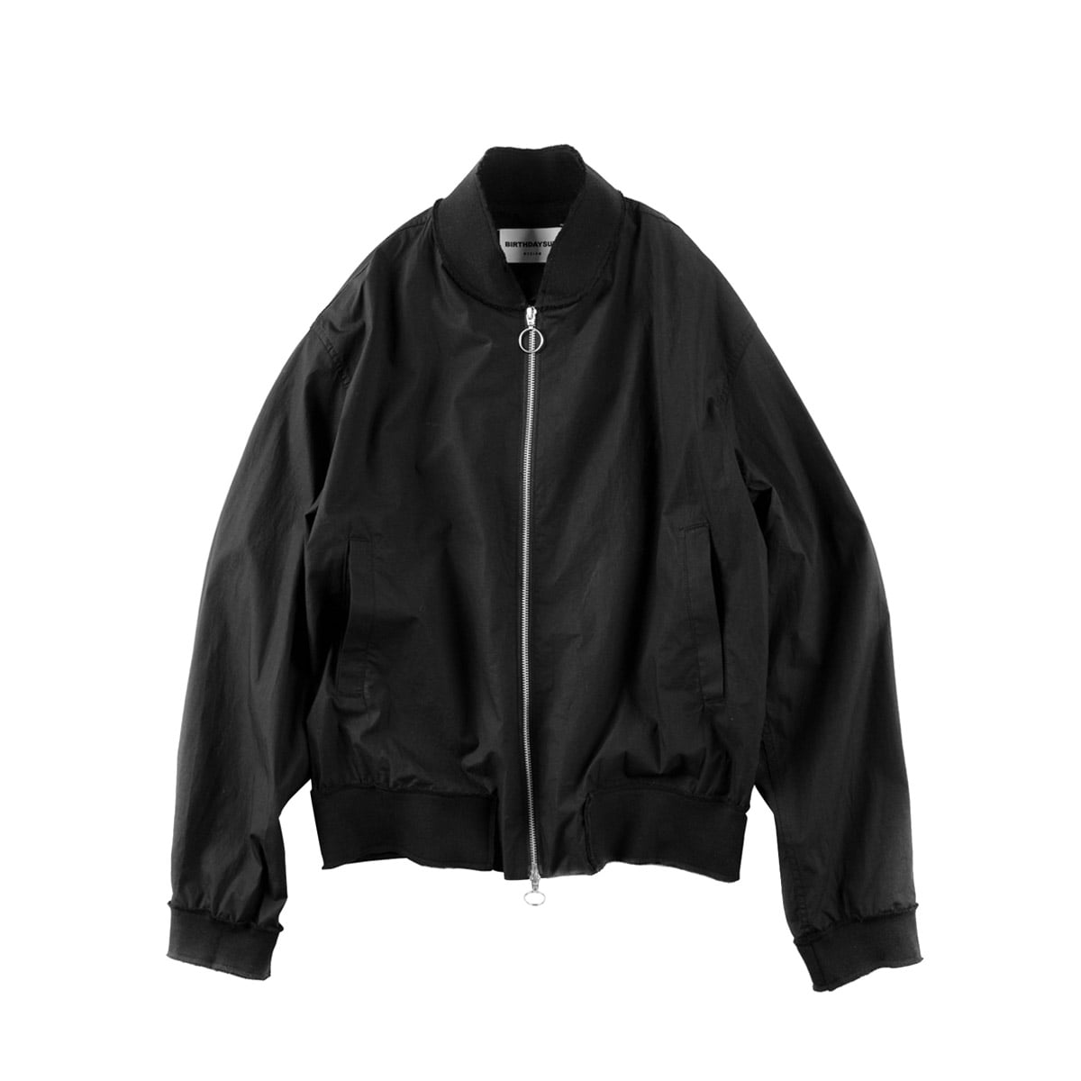 [BIRTHDAYSUIT] UNFINISHED BLOUSON 'BLACK'
