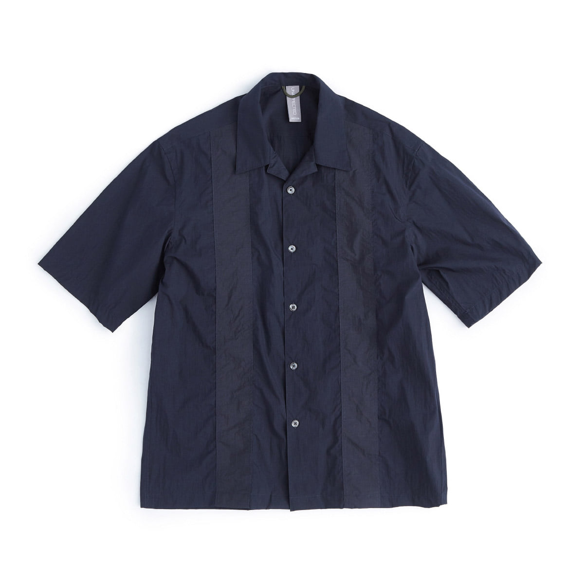[UNAFFECTED] COLOR BLOCKED SHIRT 'NAVY'