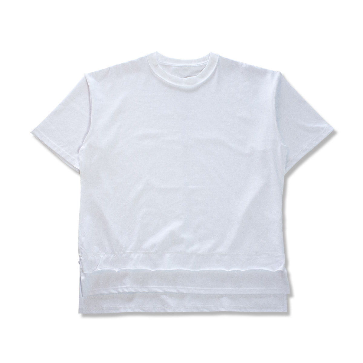 [GAKURO] REVERSIBLE H/S T-SHIRT 'WHITE'