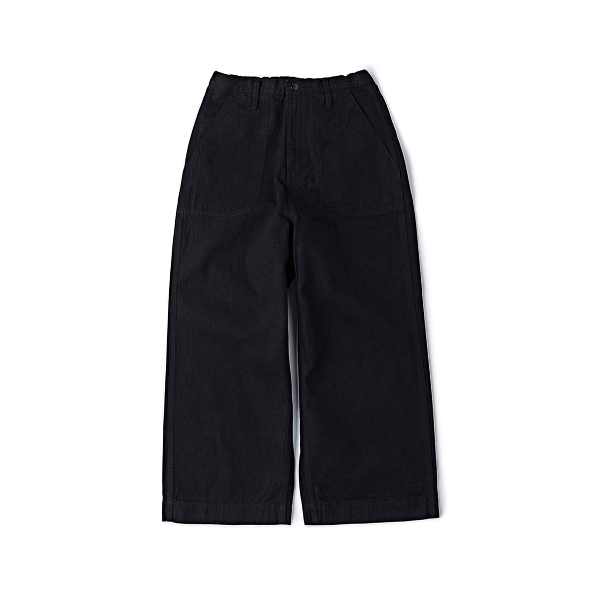[COWORKERS] WIDE EASY PANTS 'INDIGO/BLACK'