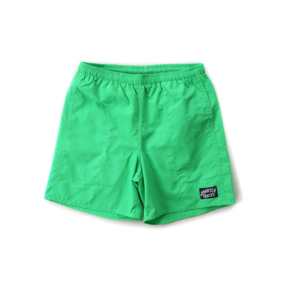 [QUARTERSNACKS] WATER SHORTS 'LIME'