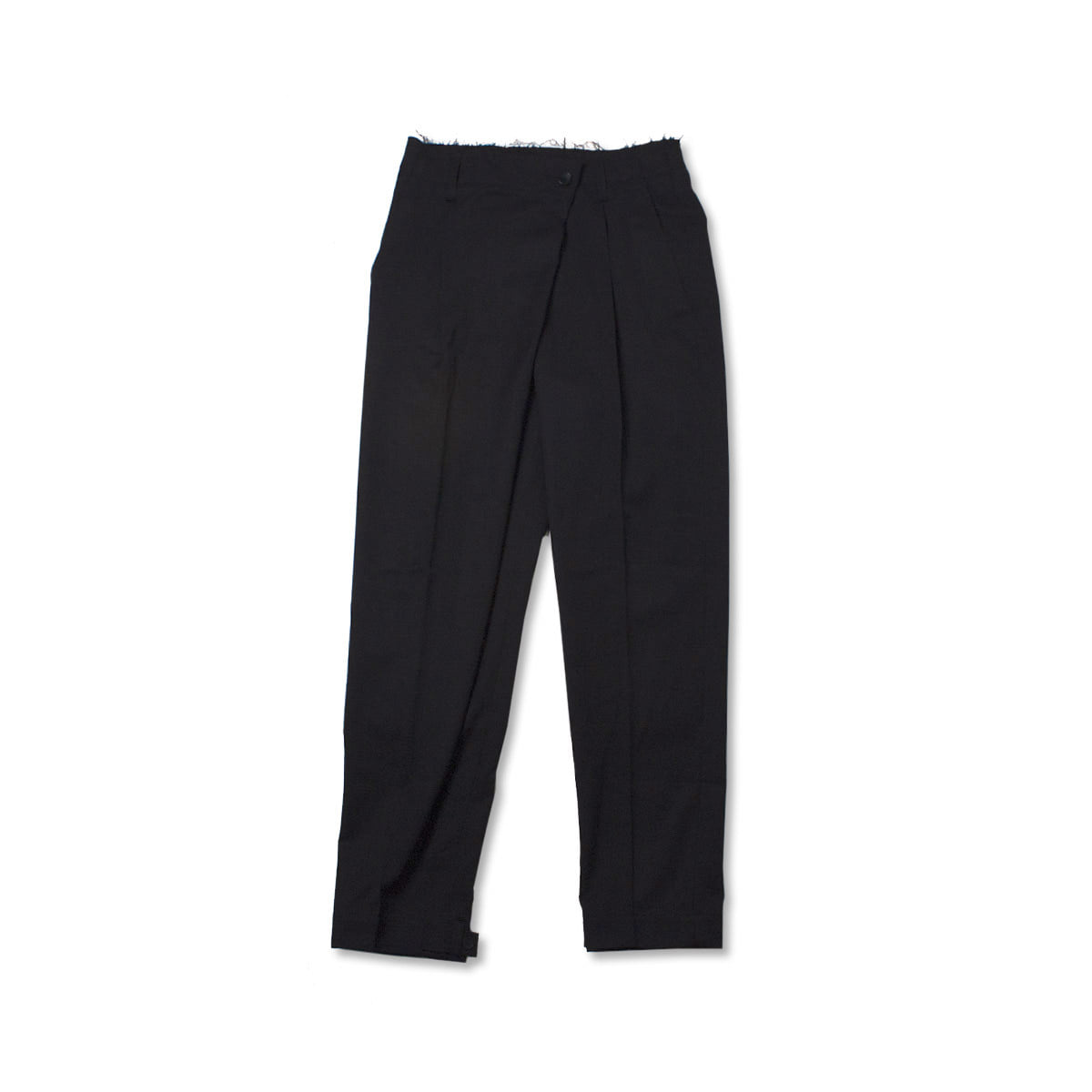 [GAKURO] WRAP PANTS 'BLACK'