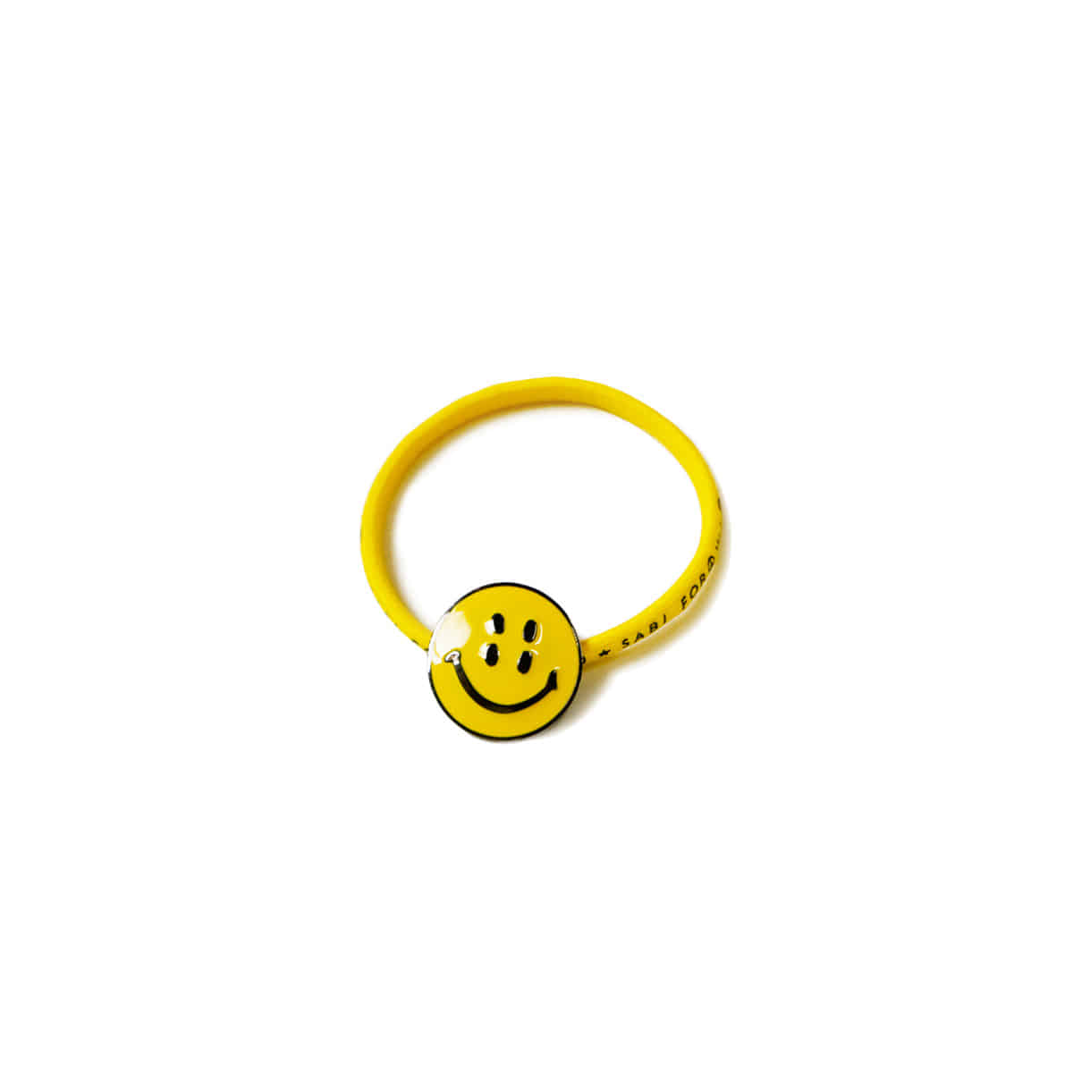 [KAPITAL] RAIN SMILE CONCHO HAIR BAND 'YELLOW'