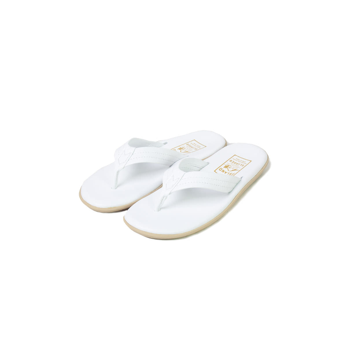 [ISLAND SLIPPER] PT202 'WHITE'