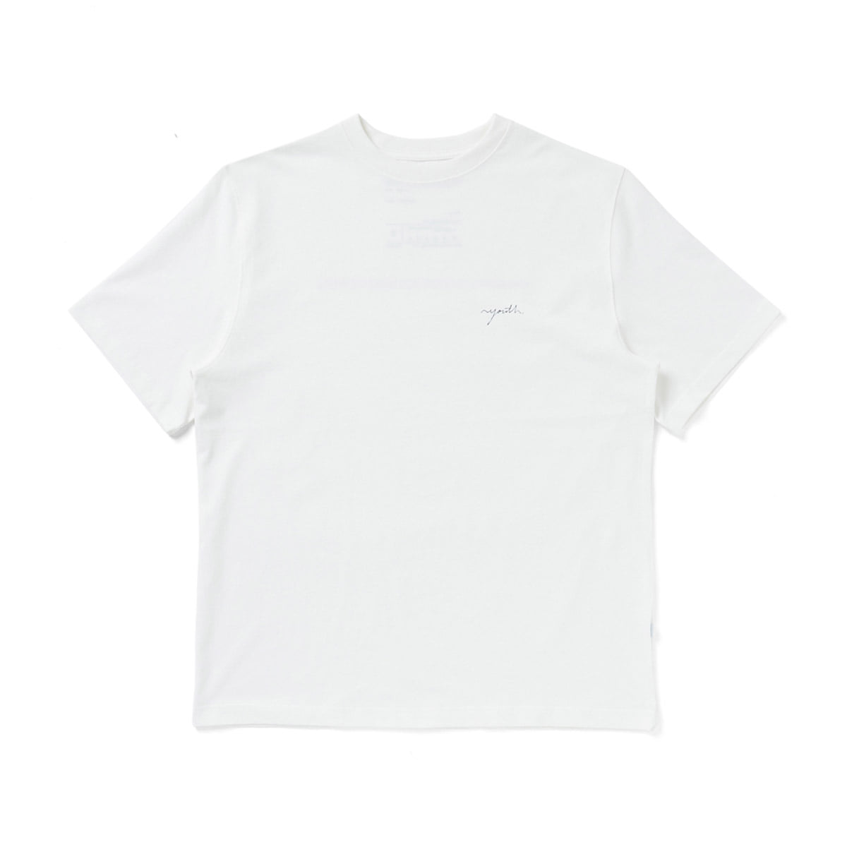 [YOUTH] LOGO T-SHIRT 'WHITE'