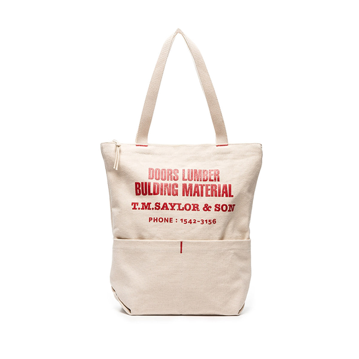 [EAST HARBOUR SURPLUS] APRON BAG SFM x TOOLS 'RED'