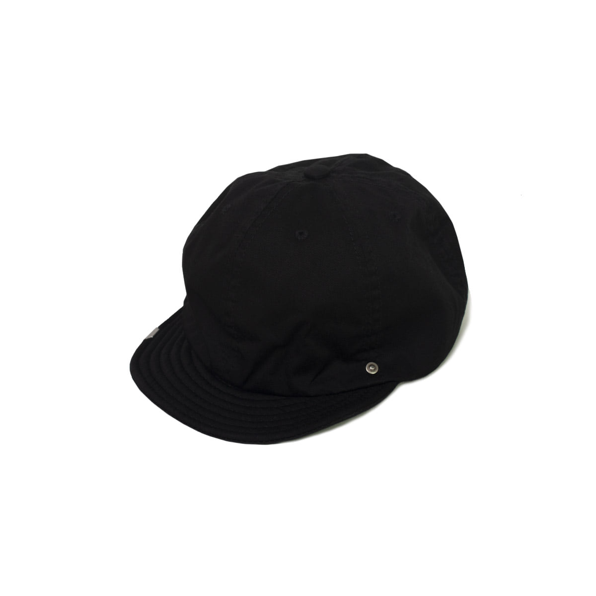 [DECHO] BALL CAP -CHINO- 'BLACK'