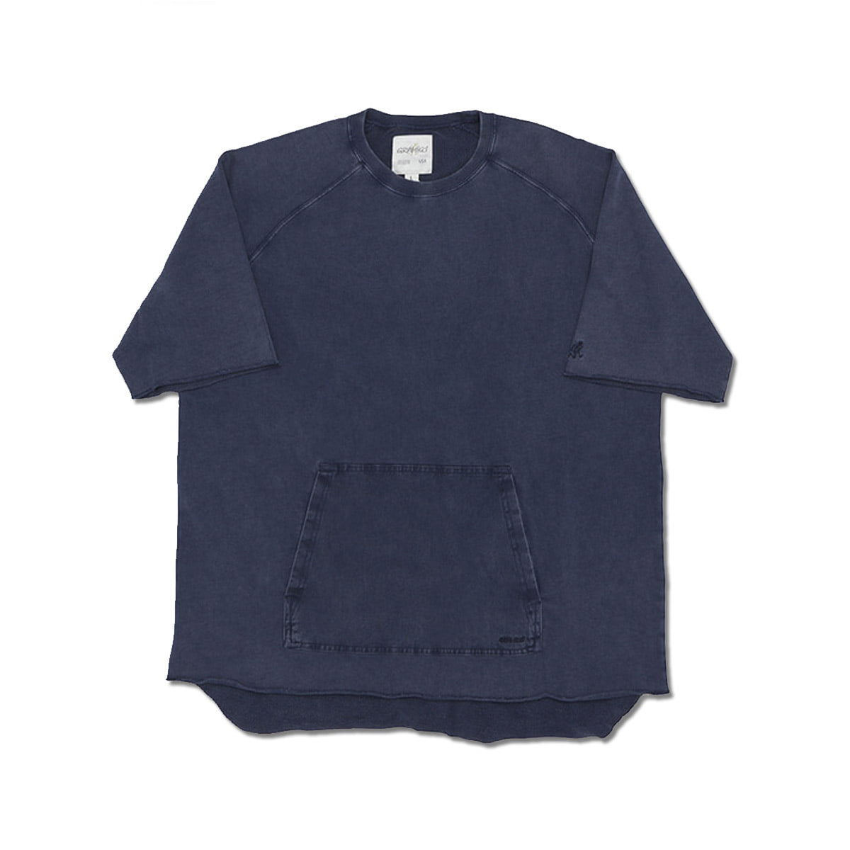 [GRAMICCI] S/S TALECUT SWEAT 'DOUBLE NAVY'