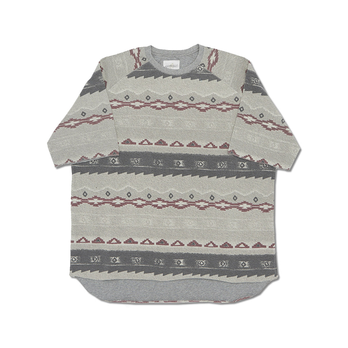 [GRAMICCI] S/S TALECUT SWEAT 'NATIVE'