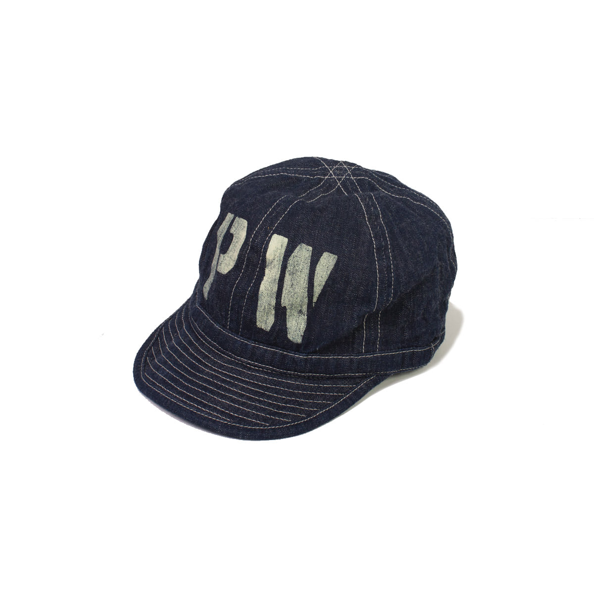 [BUZZ RICKSON'S] ARMY DENIM CAP 'NAVY'