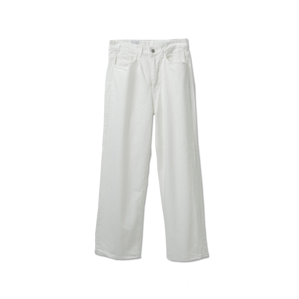 [YOUTH] WIDE DENIM PANTS 'WHITE'