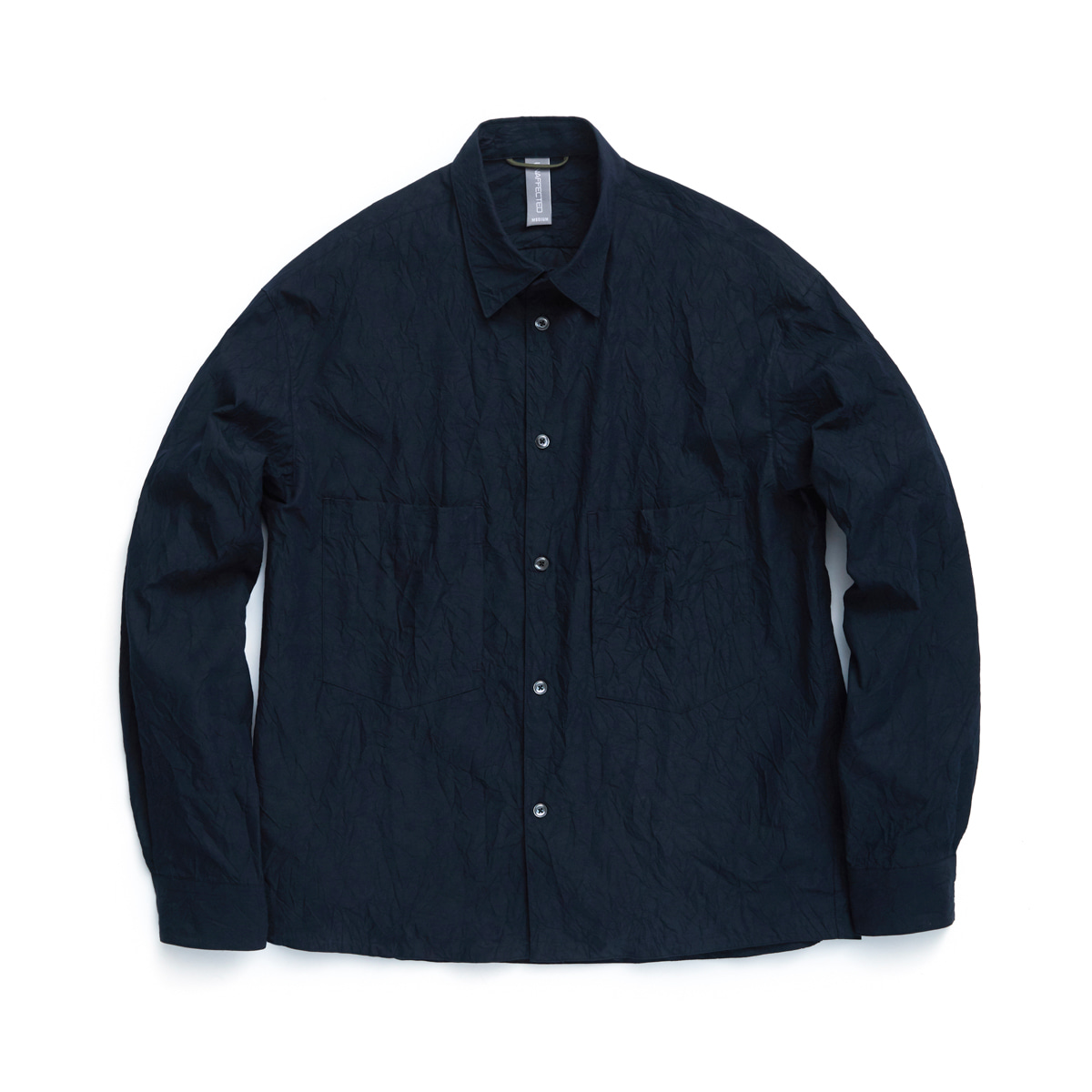 [UNAFFECTED] OVERSIZED SHIRT 'NIGHT NAVY'