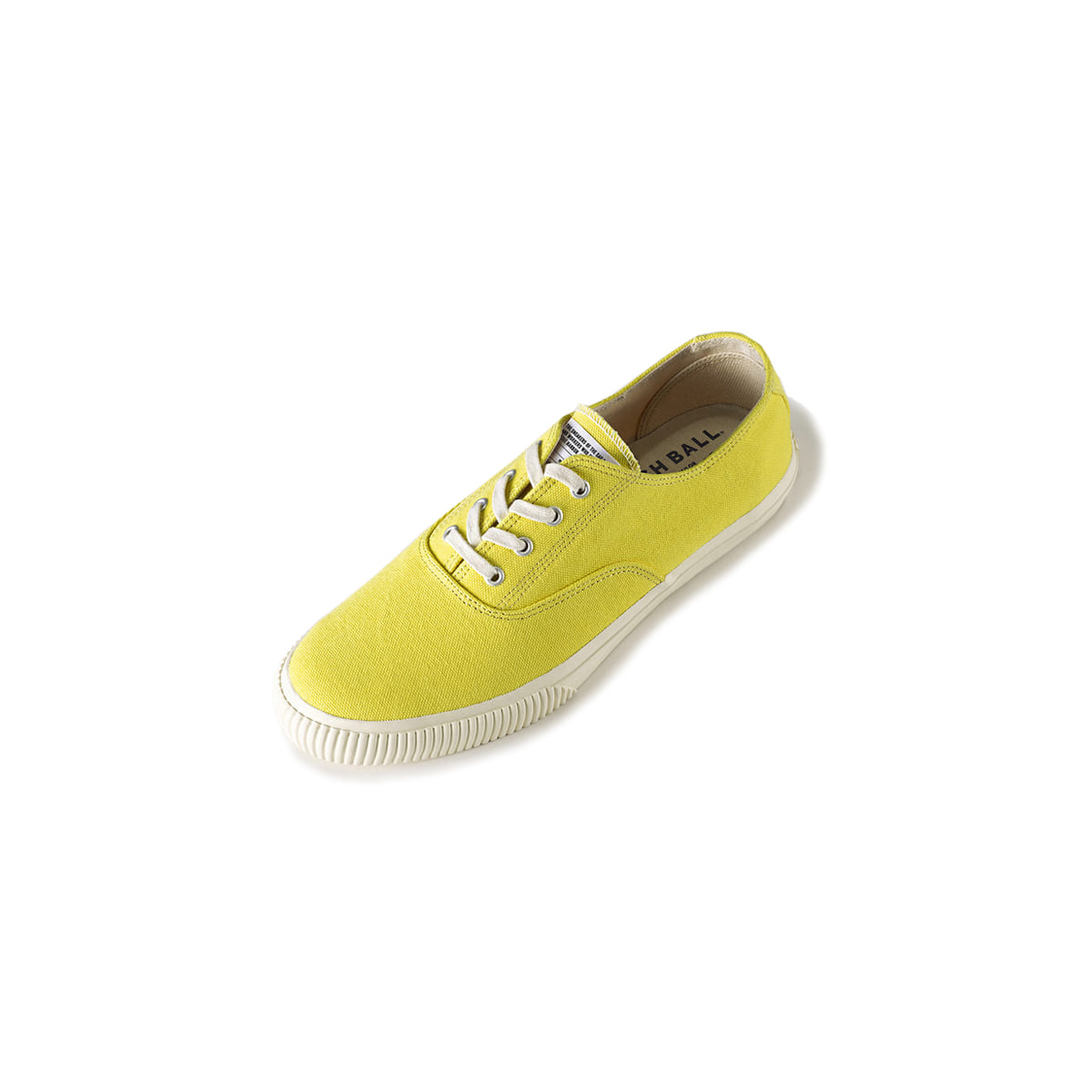 [BRUSHER] CATCH BALL DECKSHOE 'LEMON'