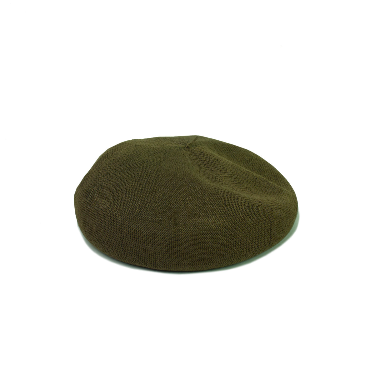 [DECHO] LINEN KNIT BERET 'BROWN'