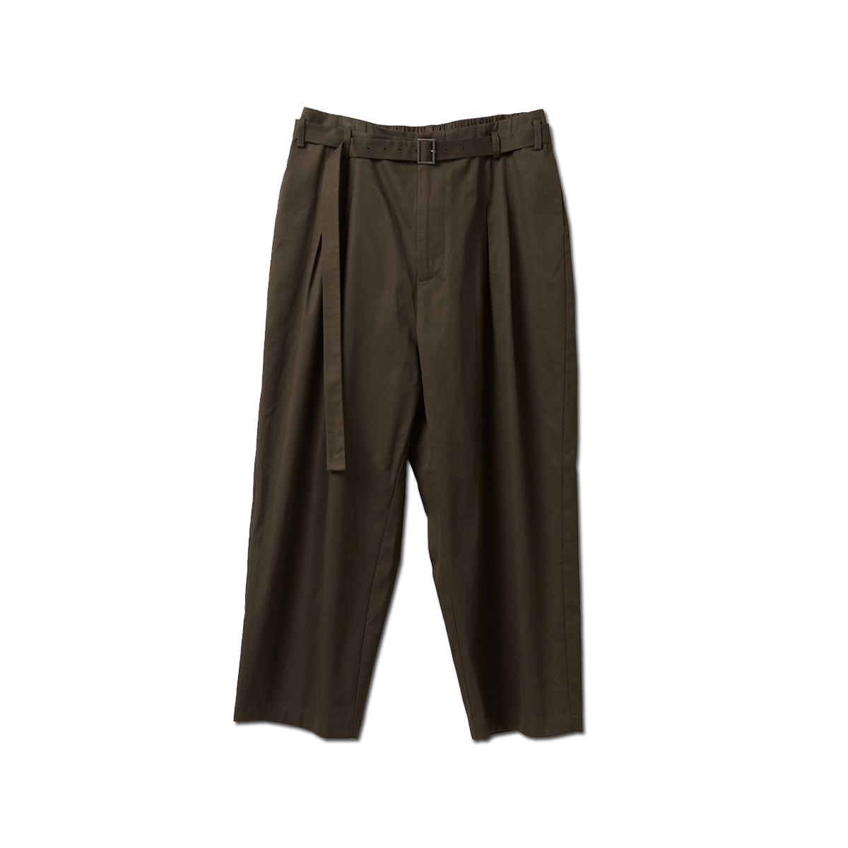 [YOUTH] BELTED LOOSED PANTS 'BROWN'