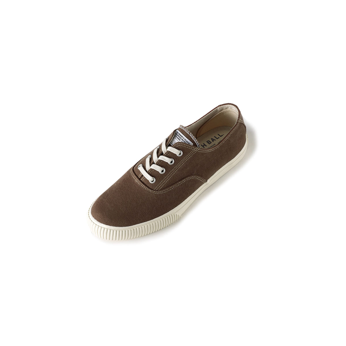 [BRUSHER] CATCH BALL DECKSHOE 'CHOCOLATE'