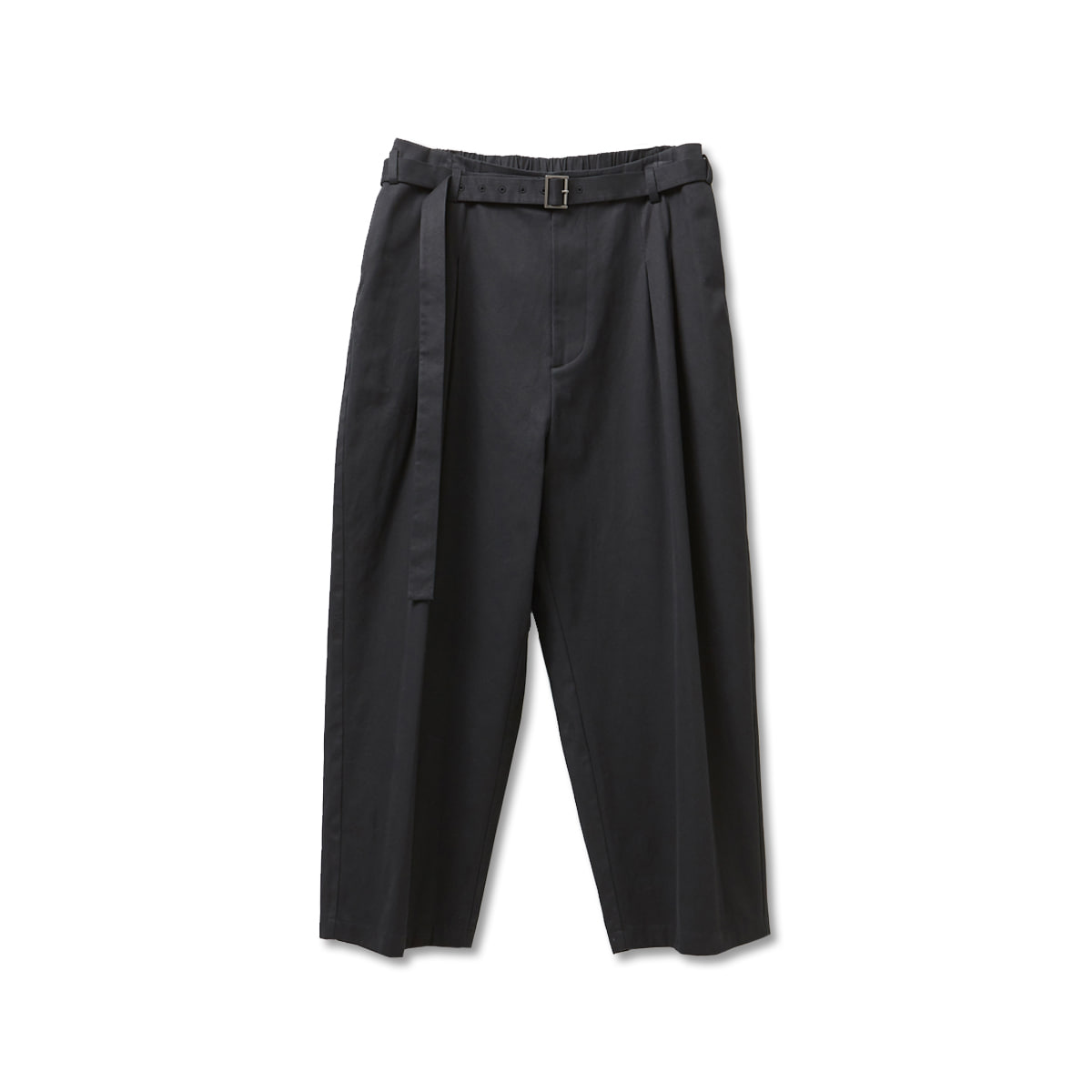[YOUTH] BELTED LOOSED PANTS 'BLACK'