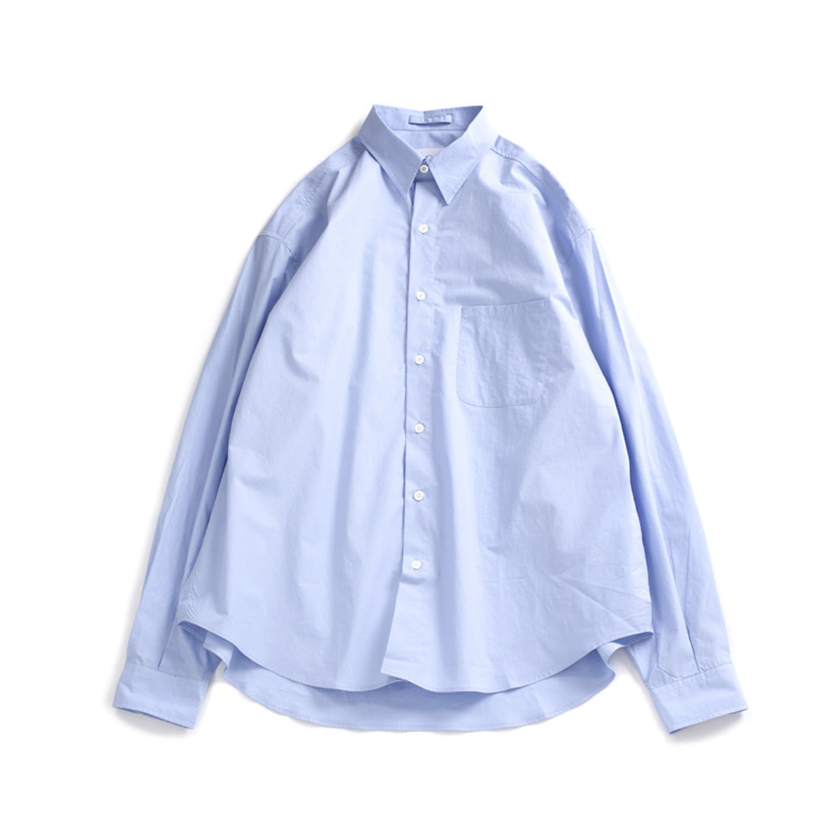 [BROWNYARD ZERO] ZERO STEADY SHIRT 'BLUE'