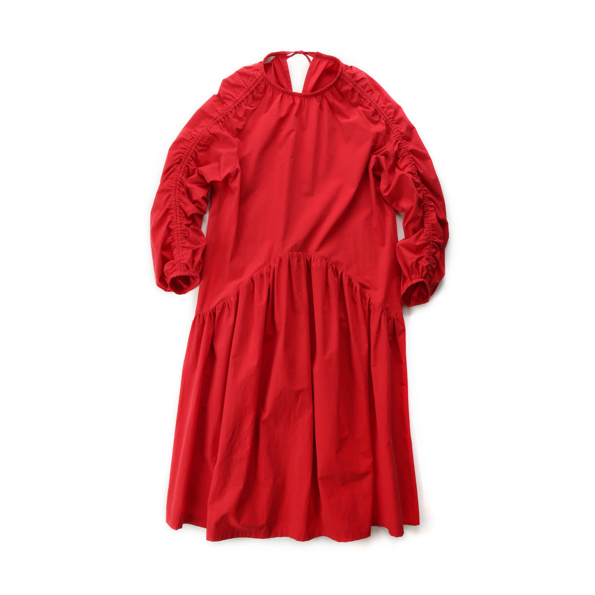 [MUSED] ONIRIQUE LUCING DRESS 'RED'