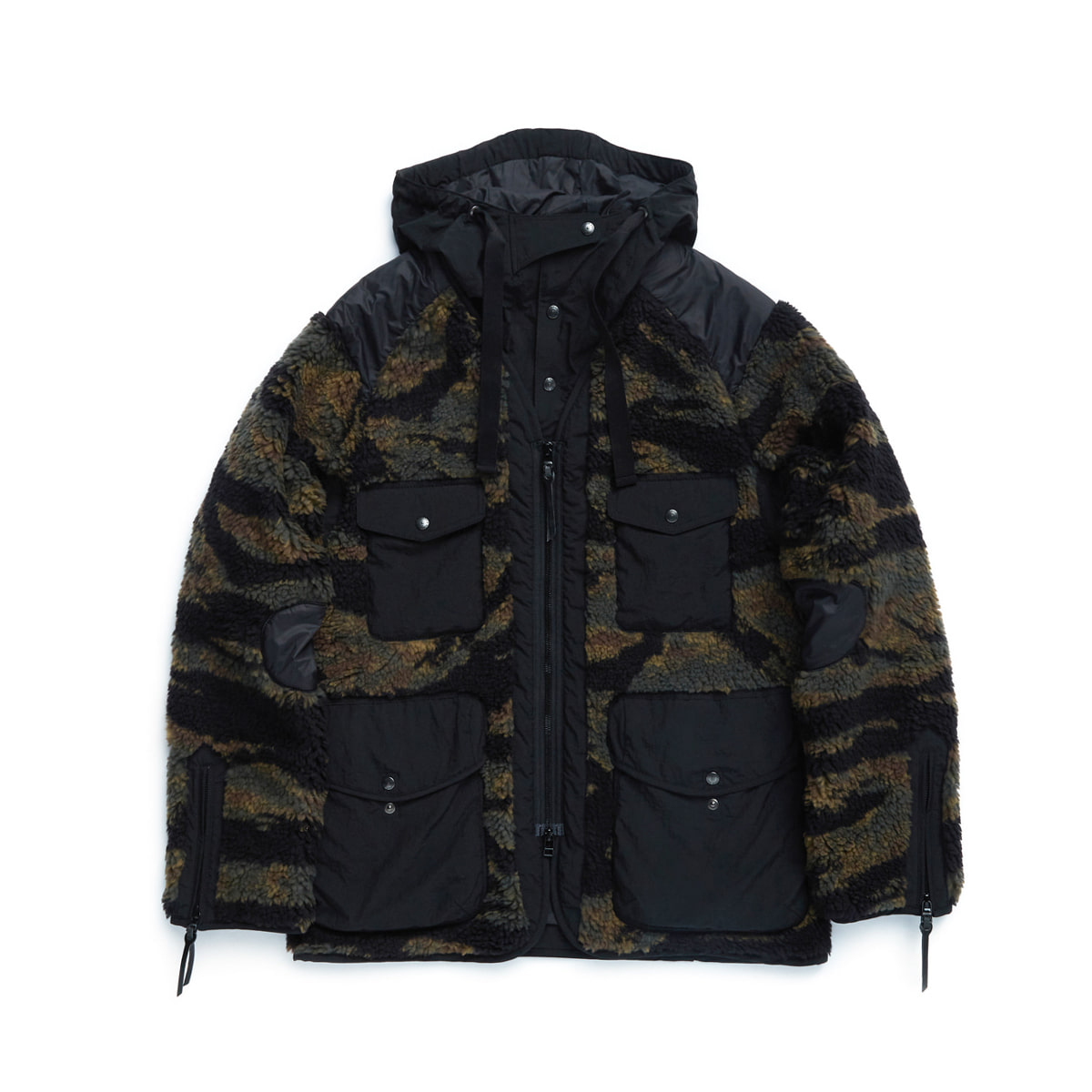[EASTLOGUE] TRAVELER JACKET 'TIGER CAMO FLEECE'