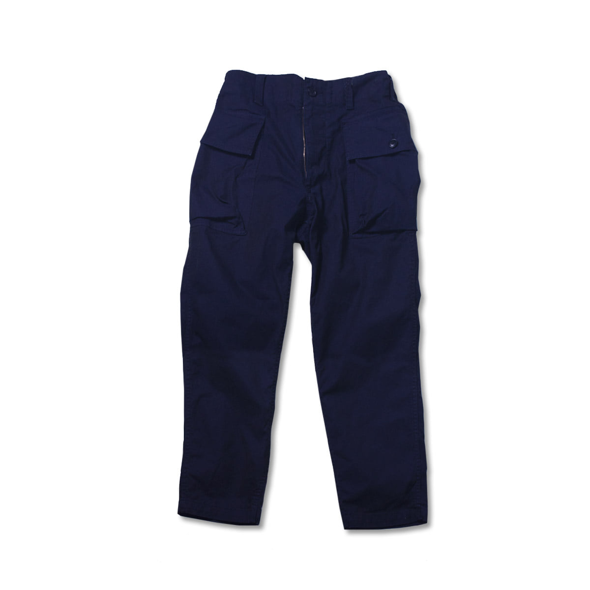 [SAGE DE CRET] TWILL COTTON CARGO PANTS 'NAVY'