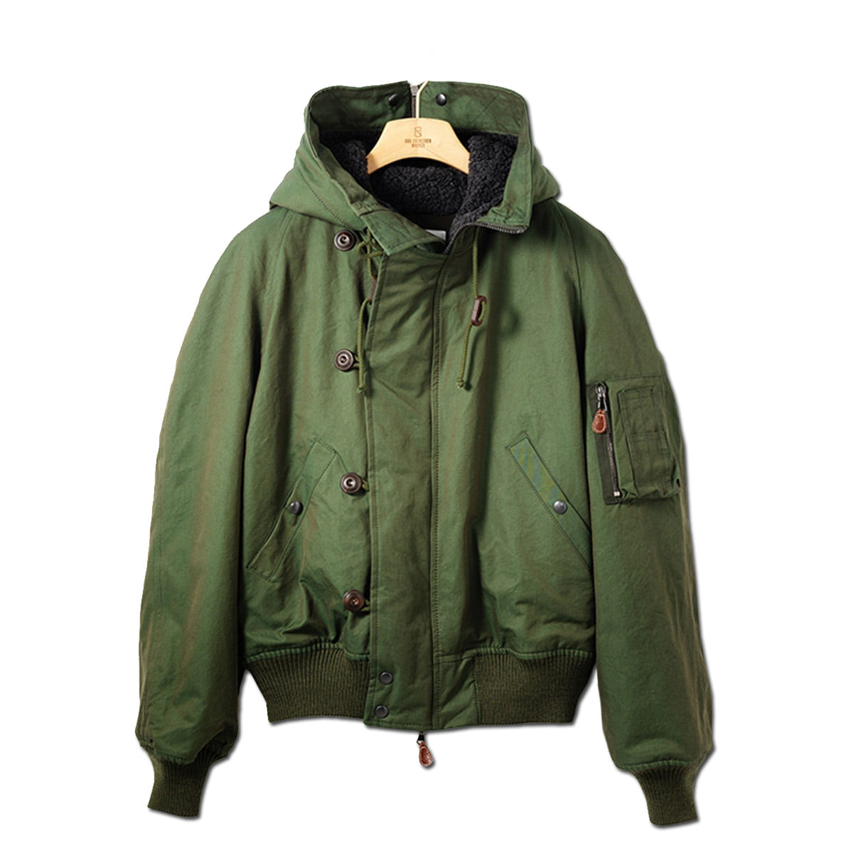 [EAST HARBOUR SURPLUS] WILLIAM PARKA 'GREEN'
