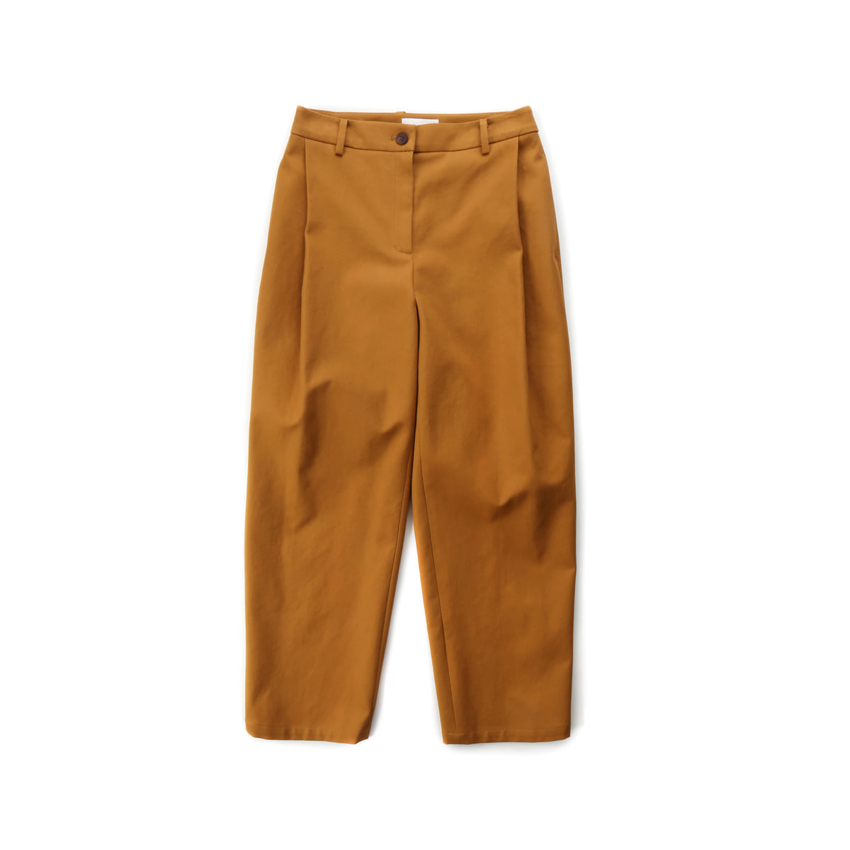 [MUSED] SALENA TUCK PANTS 'CARAMEL COTTON'