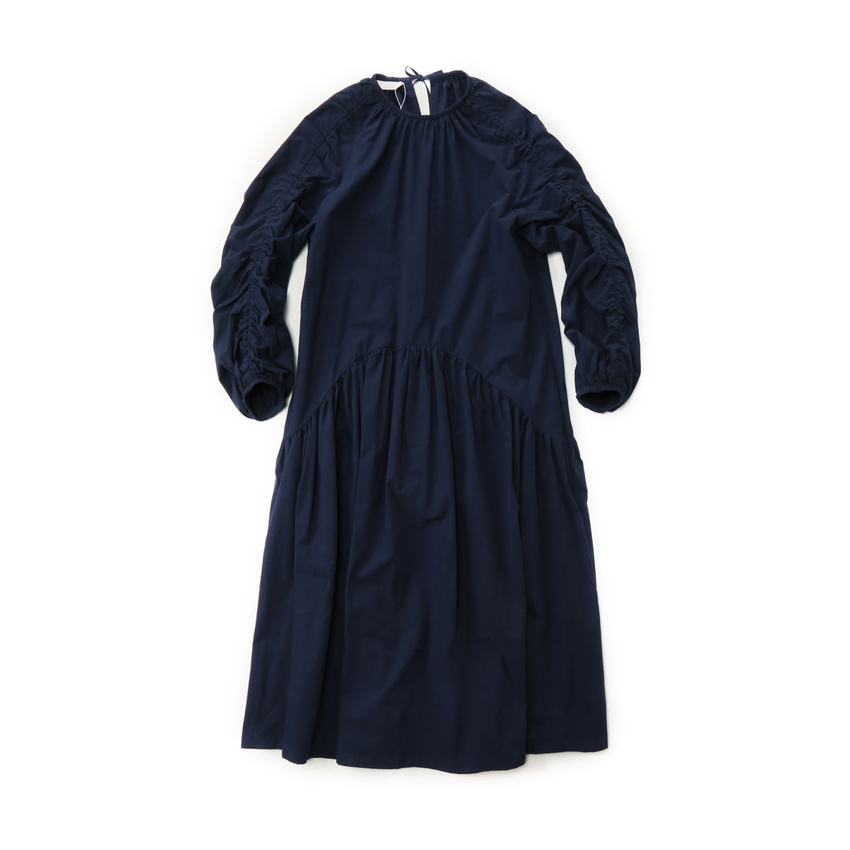 [MUSED] ONIRIQUE LUCING DRESS 'NAVY'