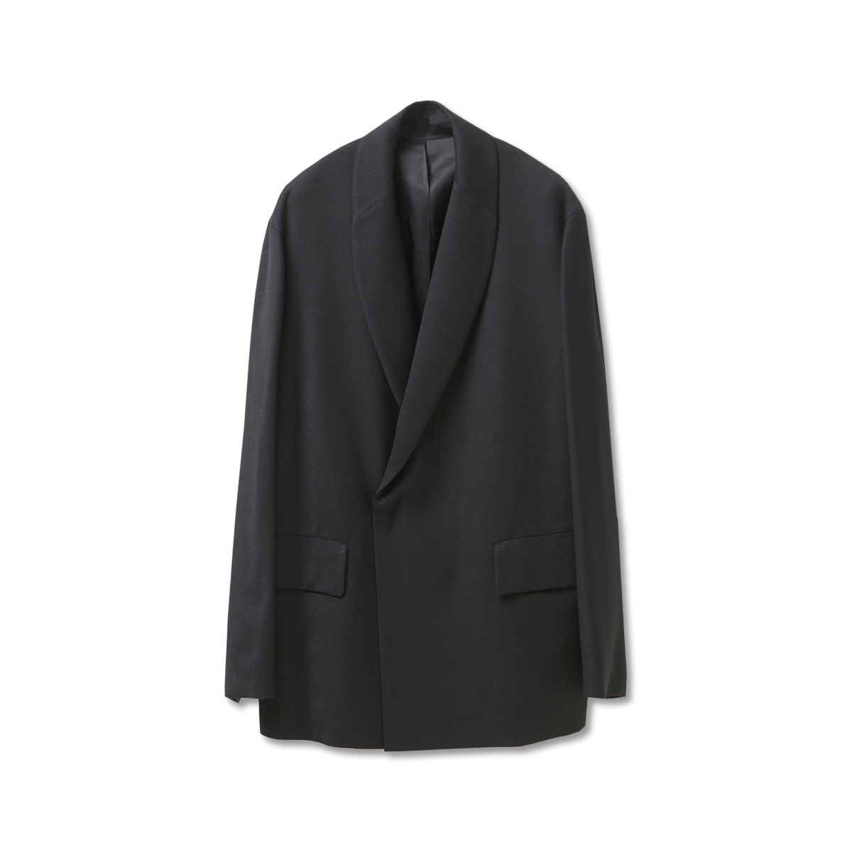 [YOUTH] SHAWL COLLAR JACKET 'BLACK'